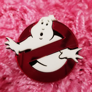 Ghost Busters Acrylic Logo Broach