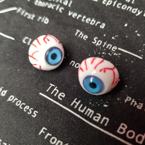 Creepy Peepers Eyeball Stud Earring