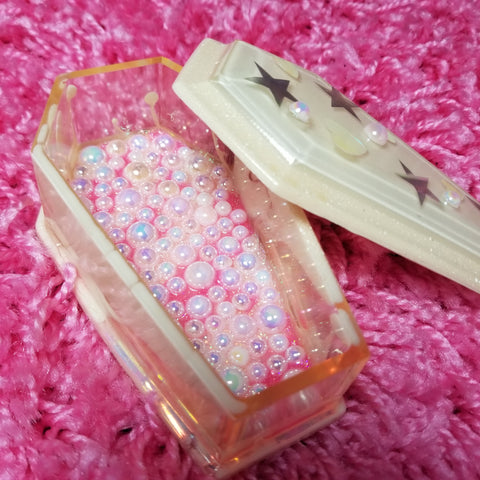 Trinkets and Treasure Boxes - Sparkles and Pearls Coffin