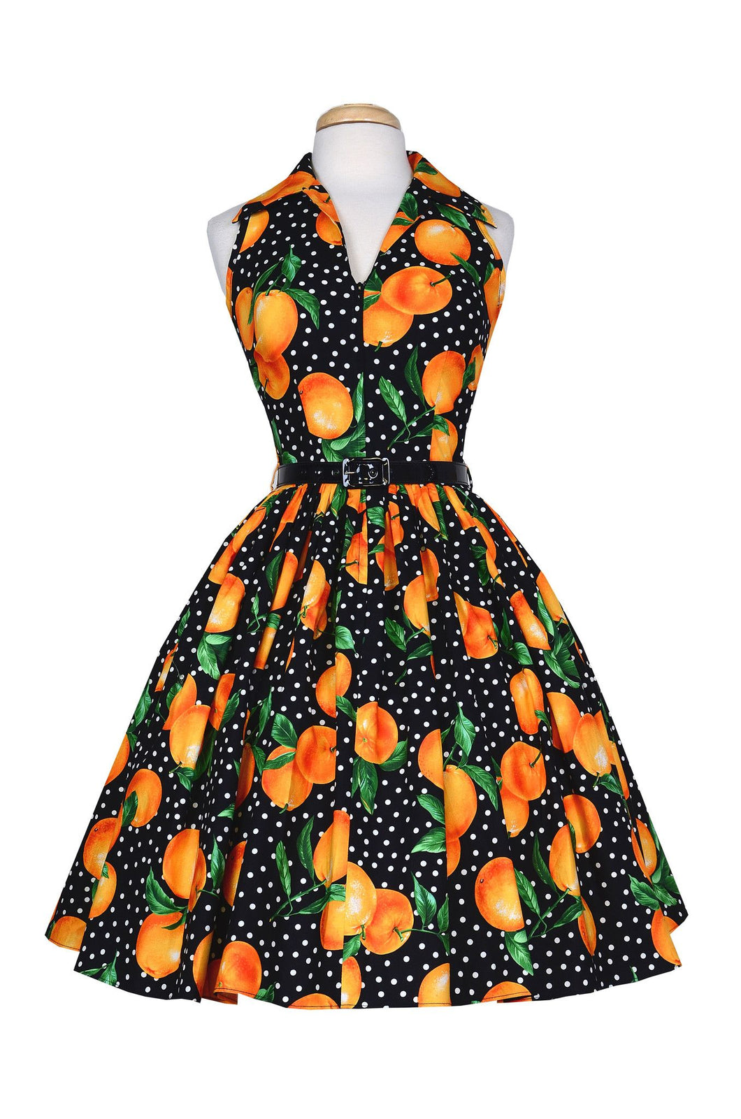 Size Extra Small Only* Bernie Dexter Oranges Dress