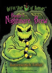 Coffee Shop of Horrors - Butterscotch Toffee - Boogie's Nightmare Brew