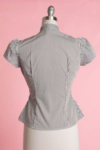 Ghoul Stripes Blouse