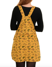Load image into Gallery viewer, Dynamic Dino Pinafore Dress