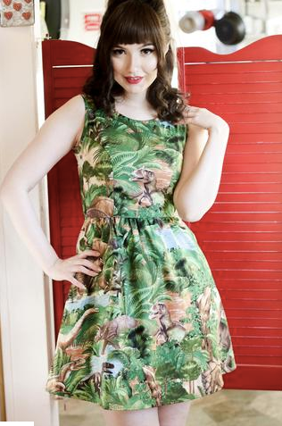 Jurassic Jungle Dress