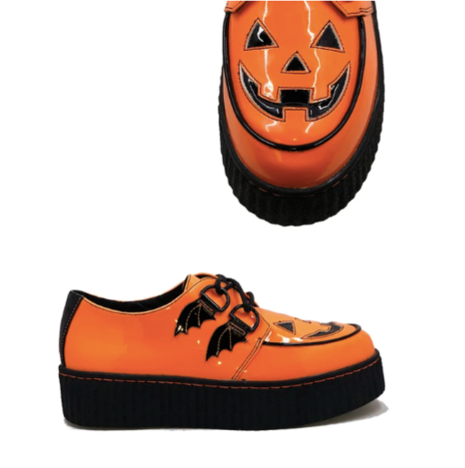 Orange Jack O' Lantern Creepers