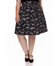 Load image into Gallery viewer, *Glow-In-The-Dark* Dino Skirt