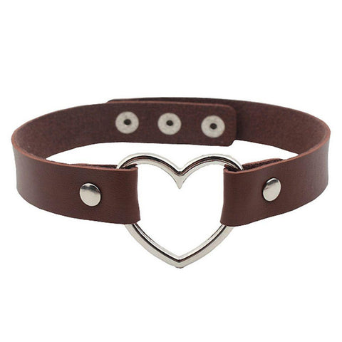 Bambi Brown Heartbreaker Choker