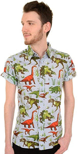 Dinosaur Button Down Shirt