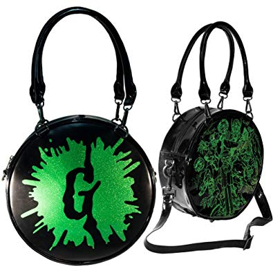 Goosebumps Round Splatter Purse