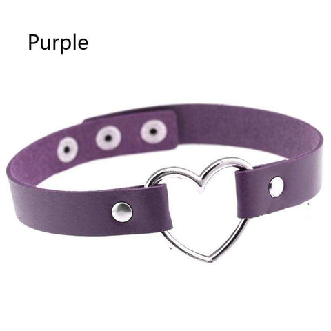 Yzma Purple Heartbreaker Choker
