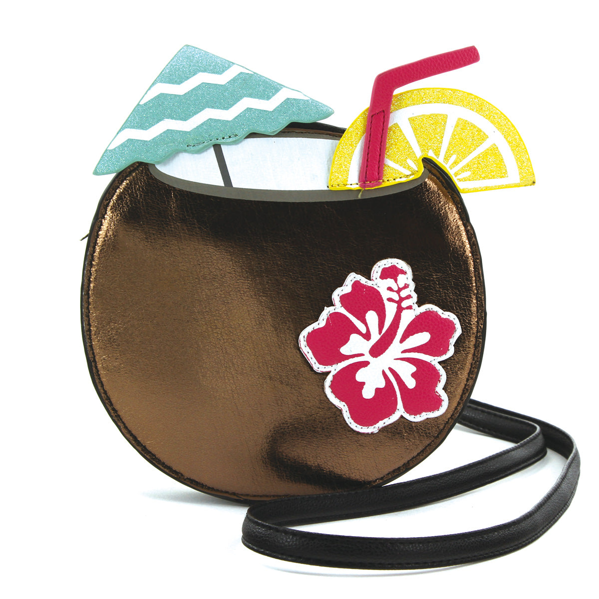 Tiki Drink Purse