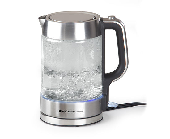 Chef'sChoice International Cordless Electric Glass Kettle Model 682
