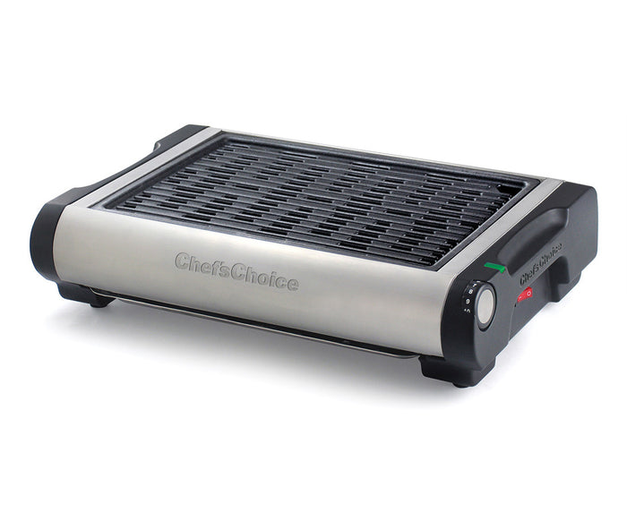 Chef'sChoice Cast Iron Professional Indoor Electric Grill Model 880
