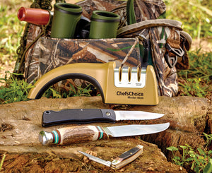 Chef'sChoice® Diamond Hone® Knife Sharpener — Fishing • Hunting • Serrated — Model 4635