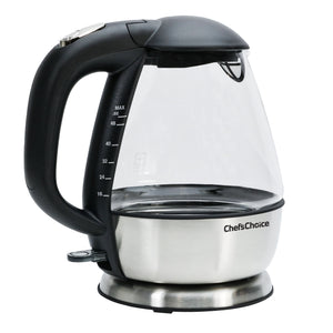 Chef'sChoice Cordless Electric Glass Kettle Model 680-Countertop Appliances-Chef's Choice by EdgeCraft