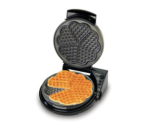"Chef'sChoice WafflePro Taste/Texture Select Traditional ""Five-of-Hearts"" Model 830"
