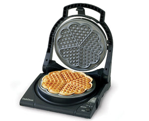 "Chef'sChoice WafflePro Taste/Texture Select Traditional ""Five-of-Hearts"" Model 840"