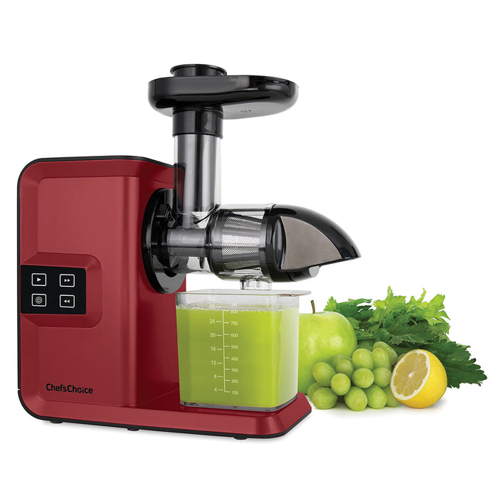 Chef'sChoice Horizontal Cold Press Masticating Juicer