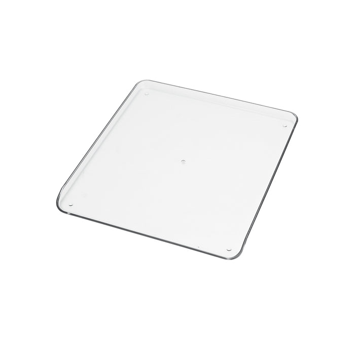 FOOD TRAY, CLEAR PLASTIC