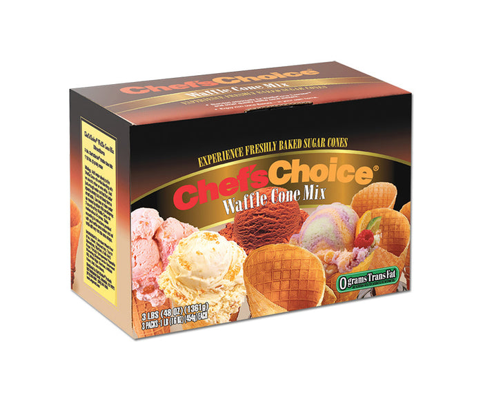 Chef'sChoice® Gourmet Waffle Cone Mix WCM501-11