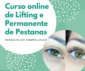 Curso Online de Lifting & Permanente de Pestanas - Portuguese Beauty School