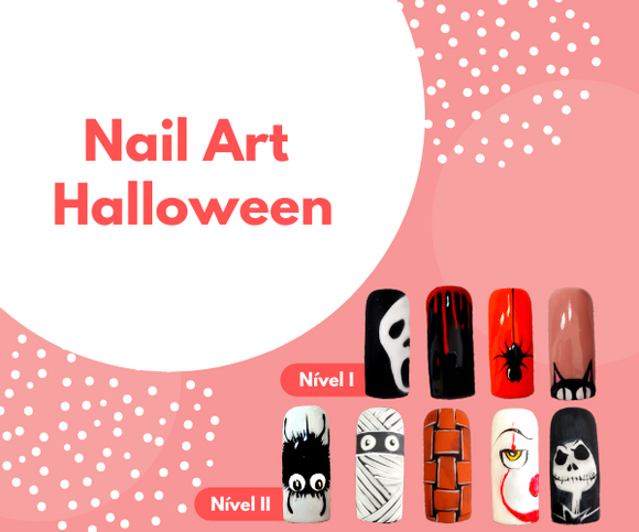 Curso online de Nail Art Halloween - Portuguese Beauty School