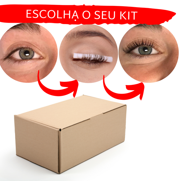 Kit de Permanente de Pestanas - Portuguese Beauty School