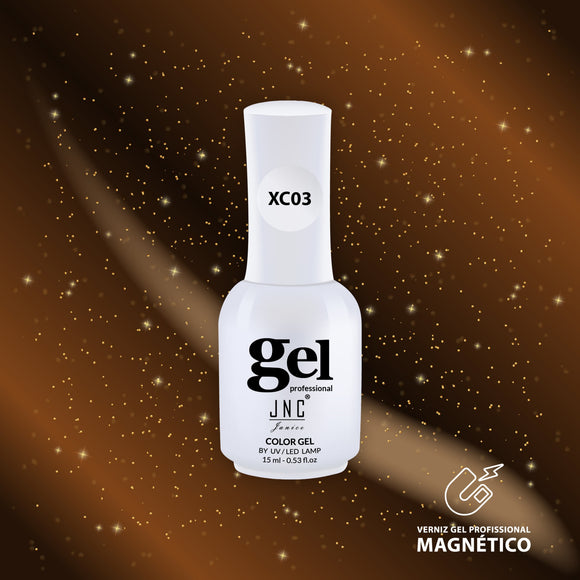 Cor Magnética JNC XC03 - Gold - 10 Ml - Portuguese Beauty School