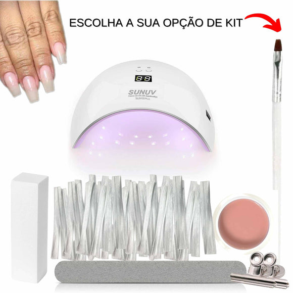 Kit de Fibra de Vidro - Portuguese Beauty School