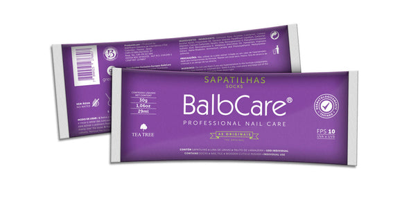 Sapatilhas de Pedicure Balbcare - Portuguese Beauty School
