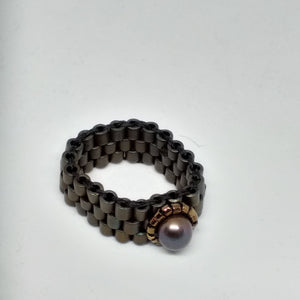 Pearl Amulet Ring