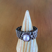 Load image into Gallery viewer, Pearl Amulet Ring