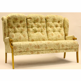 Abbey Queen Anne 3 Seater Sofa