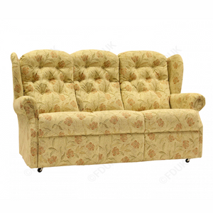 Abbey Upholstered 3 Seater Sofa