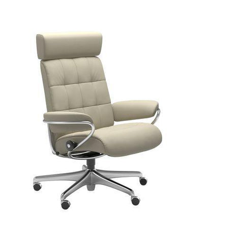 Stressless London Office Chair with Adjustable Headrest
