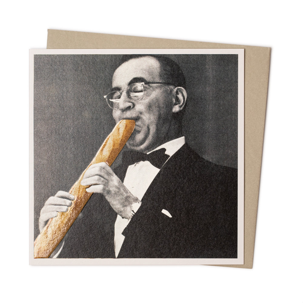 'Playing the Baguette' Card
