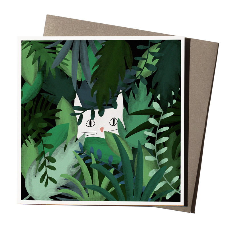 'Jungle Cat' Card