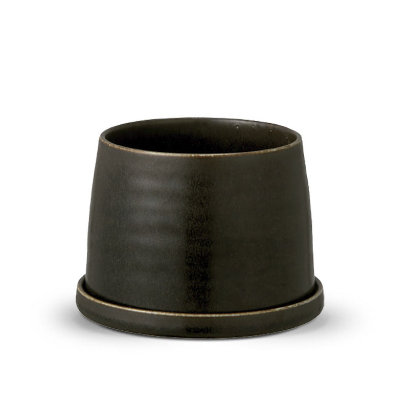 'Plant Pot 192' Black Planter