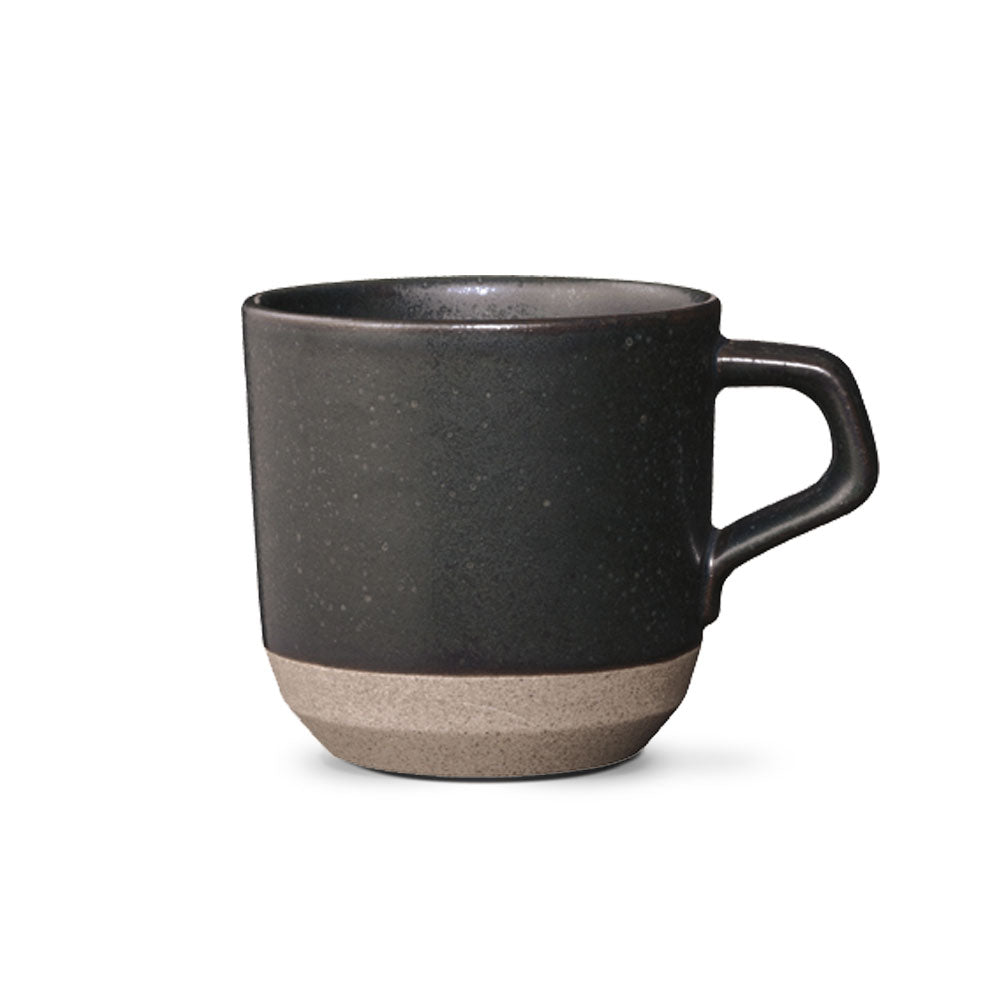 'Ceramic Lab' Black Mug