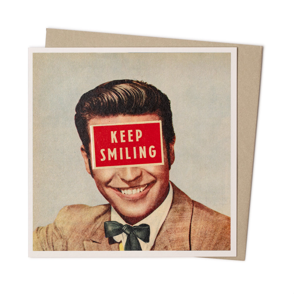 'Keep Smiling' Card