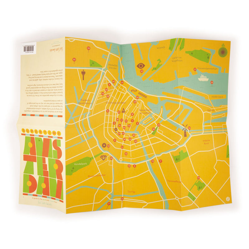 'Supertime Amsterdam' Map