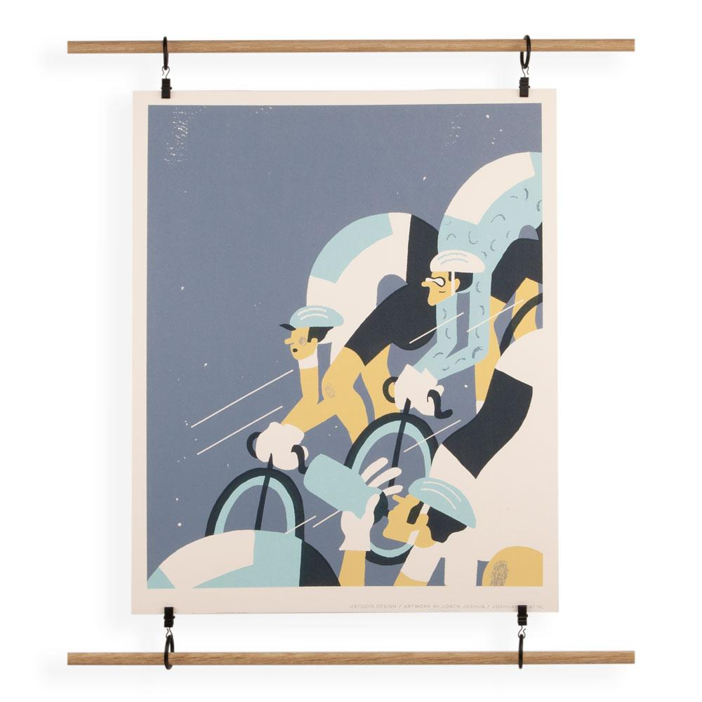 'The Ride' Screenprint by Joren Joshua