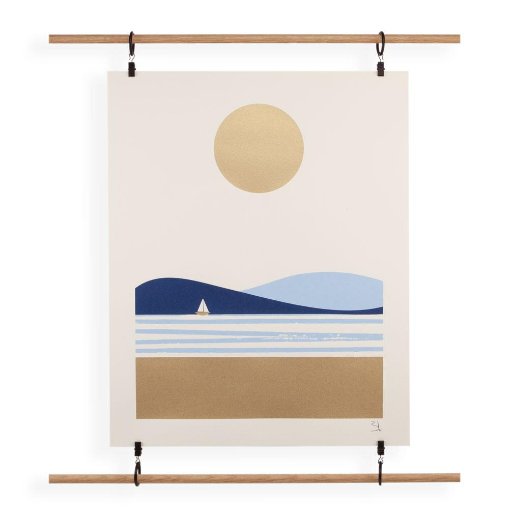 'Summer' Screenprint by Blanca Gomez