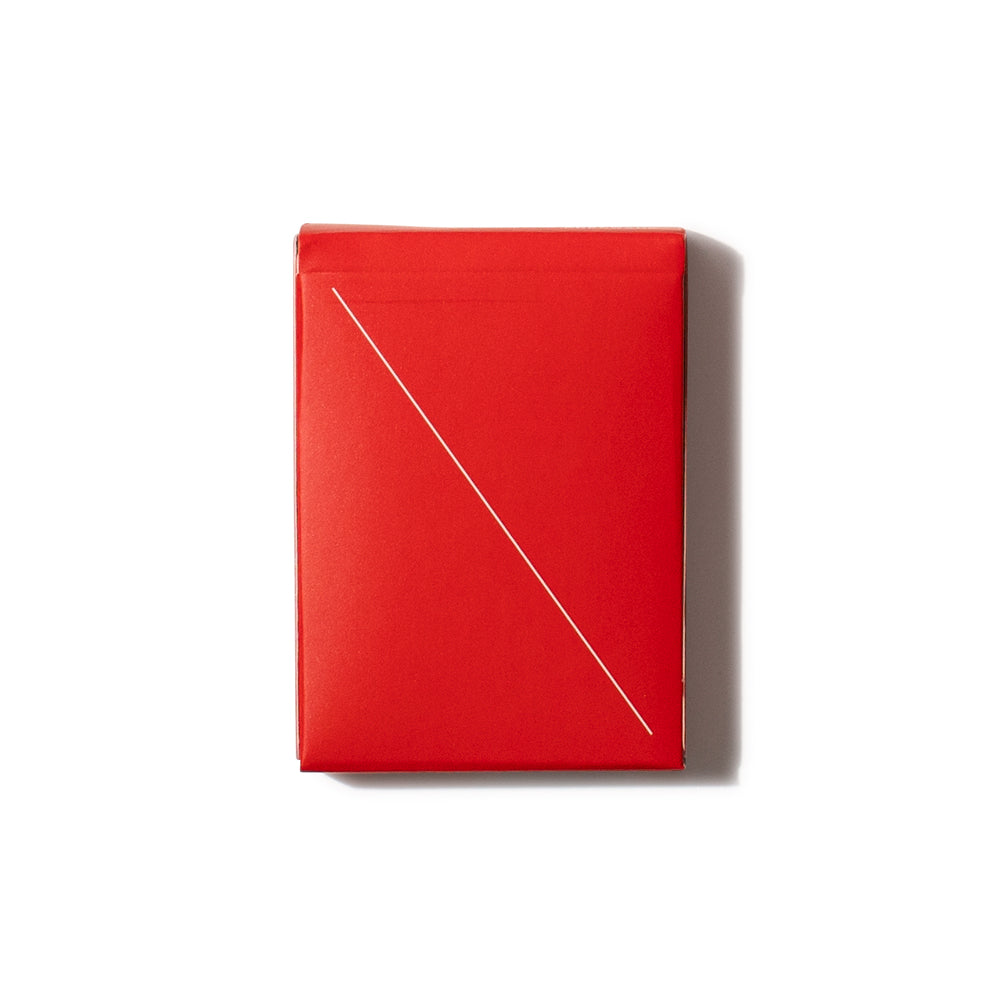 'Minim' Playing Cards - Red