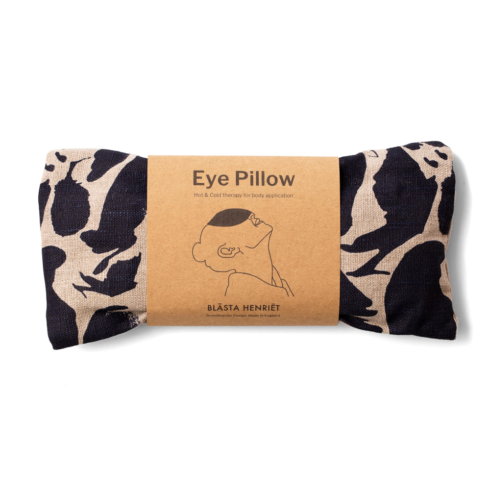 'Creatures' Navy Wheat Eye Pillow