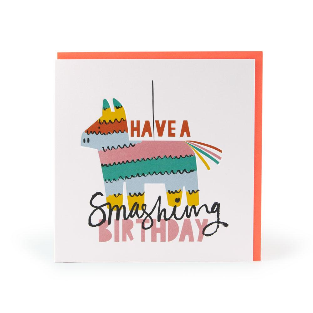 'Have A Smashing Birthday' Card by Ashley Le Quere
