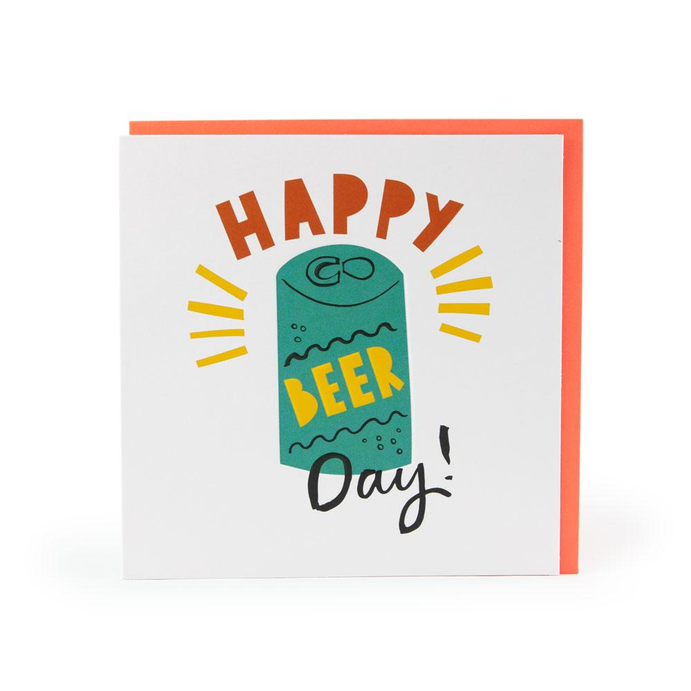 'Best Beer Day' Card by Ashley Le Quere