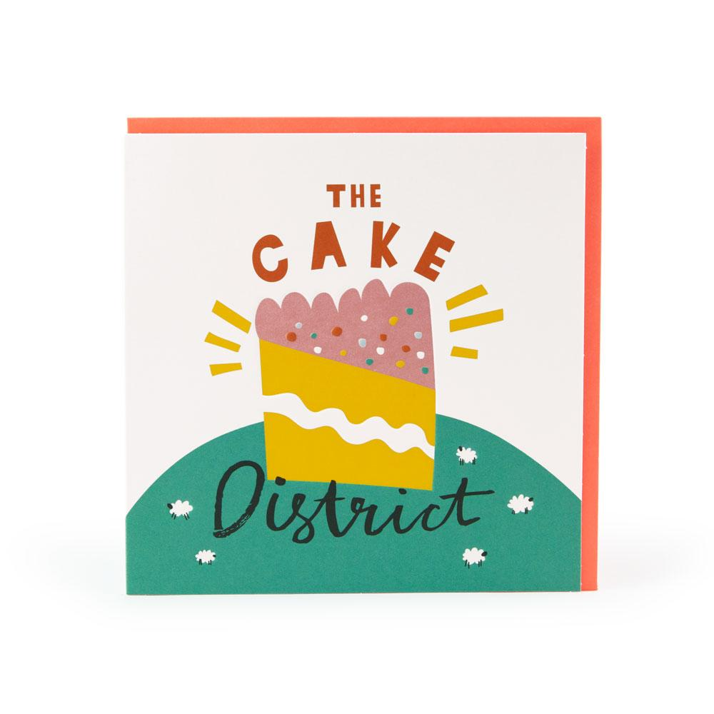 'The Cake District' Card by Ashley Le Quere