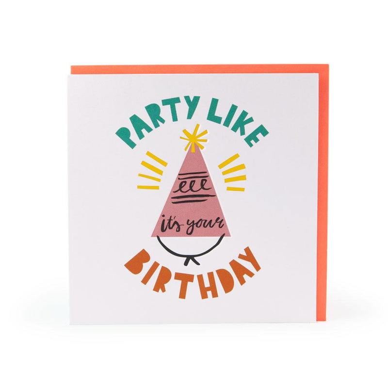 'Party Like It's Your Birthday' Card by Ashley Le Quere