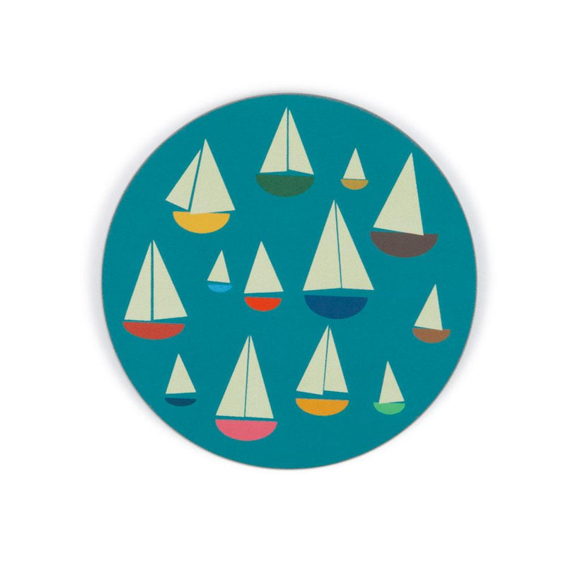 'Sailboats' Coaster